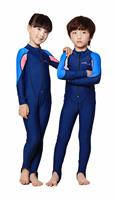 девушка в подводное плавание гидрокостюмы, комбинезон, пэчворк, глубокий синий + розовый, темно-стиль