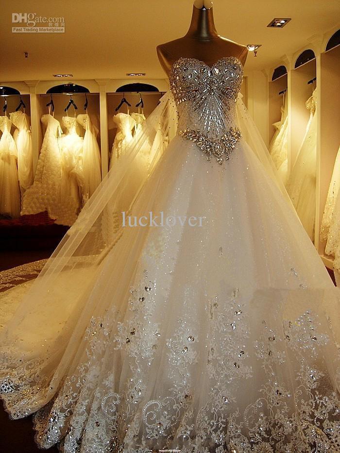 Сваровски свадебное платье
