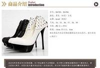 Туфли на высоком каблуке Pixie store kvoll ladies fashion rivets sexy high heels shoes platform shoe D4704