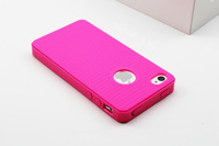 Чехол для для мобильных телефонов For Iphone 4 4S Candy Color Soft Rubber TPU Case Cover with Dust Proof Plugs