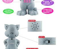 Говорящая игрушка children's toys talking baby doll cat touch intelligent recording singing early childhood learning machine machine