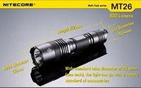 Светодиодные фонарики nitecore MT26