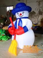 Рекламное надувное изделие 1.8M christmas inflatable snowman with blower and led