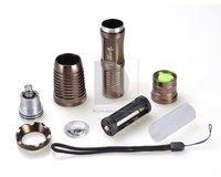 Светодиодный фонарик UltraFire 1800 Lumens CREE T6 LED Mini Flashlight Torch Adjustable Focus Zoomable flash Light Lamp