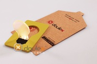 Pocket  Led card light,card shape.credit card size.