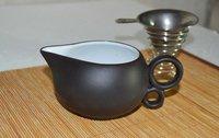 Посуда super on sale 12pcs black ceramic tea set Chinese chiuchow / chaozhou kung fu tea / gong fu cha