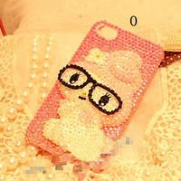 Чехол для для мобильных телефонов hello kitty melody little twin star case for iphone 5 rhinestone bling cell phone case for iphone 4/4s