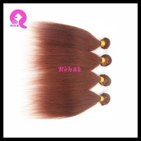 straight new arrive coarse human hair weave / weft high quality 100% brazilian virgin human hair extension W1037