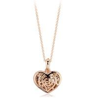 Итальянский rigant сердца кулон ожерелье ювелирные изделия для женщины с австрийский хрусталь stellux #rg76683