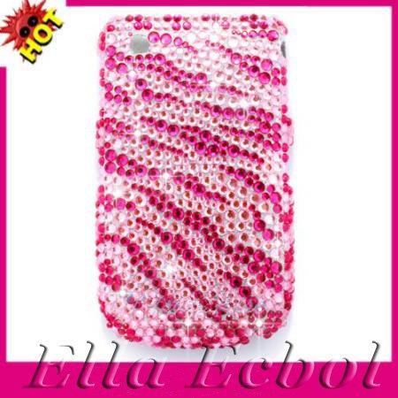 ipod touch cases zebra. Pink-Zebra-Bling-Diamond-Case-