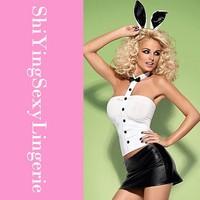 Женский эротический костюм Dear-Lover Bunny Costumes LC8709 + + ,