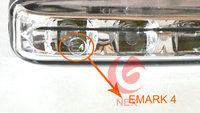 Светодиодные DRL огни дневного света для Форд Фокус Шкода Октавия hyundai solaris i30 ix35 volkswagen jetta поло гольф mk6