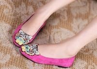 Женская обувь на плоской подошве 2013 New fashion Tigers design women casual comfortable flat shoes 4 colors