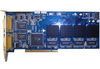 Full D1 DVR Card: DS4008HFI