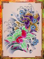 Новая книга профессиональные татуировки для татуировки татуировка флэш-книга