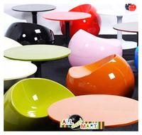 Пластиковая мебель Ball Chair Stool Apple Chair Leisure Bar Stool Fashion Stylish Christmas Gift Modern High Quality Home Furniture