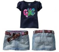 Комплект одежды для девочек 2013 2-pcs 100%cotton baby girls clothes suit kids clothing summer set, 5 set/lot