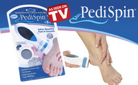 Инструменты по уходу за ногами FEDEX! CARE TOOL, 90pcs/lot Pedi Spin Callus Remover Electronic Foot Callus Removal Kit
