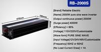 Инверторы и Преобразователи Reliable quality_2000W off ,  dc ac 1 . . RB-1500S