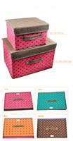 Искусство косметической хранения поле/косметические коробки/макияж Организатор/Косметика/хранение Организатор/хранения бокс-сет