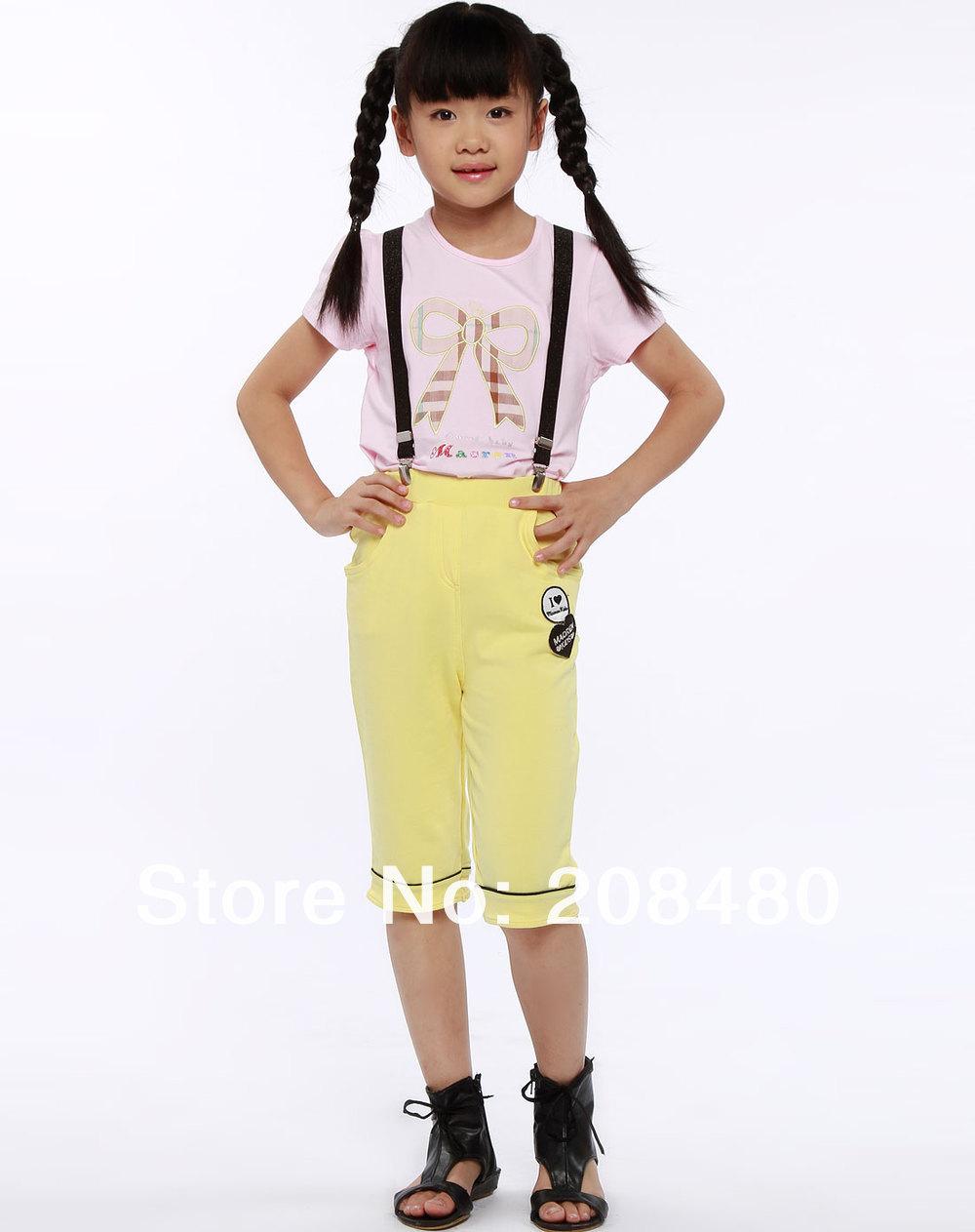 - 9designs Y-Натуральная кожа 2.5cm wide Kids Suspenders BOYS/GIRLS Suspender Elastic Braces 4 Good clips Suspenders