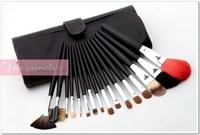 высокое качество Колонковая прическа макияж кисти комплект 16 шт. / набор Инструменты косметические