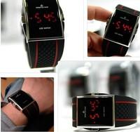 Наручные часы Men's luxury Date digital Sport watch with red Led