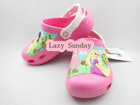 New Crocband Clog 3 Princess Party Rose Kids Unisex Summer Shoes Beach Sandals Slippers US C6/7-J3(M3-W5)