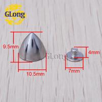 Клепки для одежды GLong 9,5 Leathercraft 1000 gz028/10 + B3S GZ028-10S+B3S