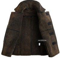 nzp1002 высочайшего качества зимы Кожа куртка мужчины с зимнее пальто меховые мужчин