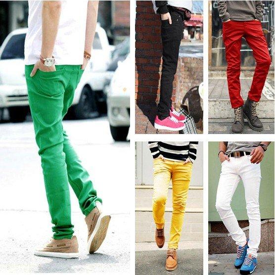 Colour Pants For Mens
