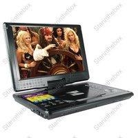 """12"""" Portable Widescreen 12"""" Portable Widescreen DVD Player + TV + CD + Games + TV + CD + Games with 12 Inch Widescreen"""