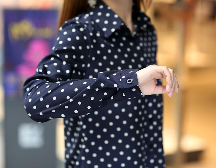 Blue And White Polka Dot Shirt Photo Album - Reikian