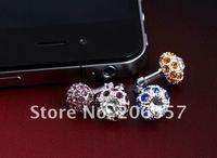 Стилус 20pcs/lot Universal Bird's Nest diamond Anti dust plug for Apple IPhone 3G 3GS 4S 4 4G Ipad 2 Ipad 3 All ipod All Touch Screen