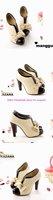 Туфли на высоком каблуке Fashion sexy womens boot shoes hot in Japan bowknot shoes high heels shoes white color plus big size 34-43 178