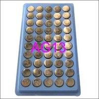 Аккумулятор таблеточного типа 50 x AG13 LR44 LR1154 SR44 A76 357 Button Cell Battery