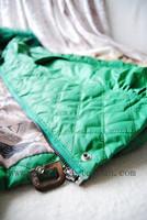 Женские пуховики, Куртки 2013 female Korean long-sleeved with Hooded raccoon fur collar cotton padded jacket and long sections