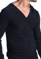 Сексуальная ночная сорочка N2N Dream Hoodie Very Comfortable and sexy Black
