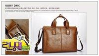 Сумка через плечо 2012 cross-section of the new men's handbag business computer briefcase, messenger bag man bag 1pcs