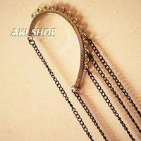 Min.order is $15 (mix order)2013 Personalized long tassels drop earrings for women,Free shipping,fashion rhinestone drop earring
