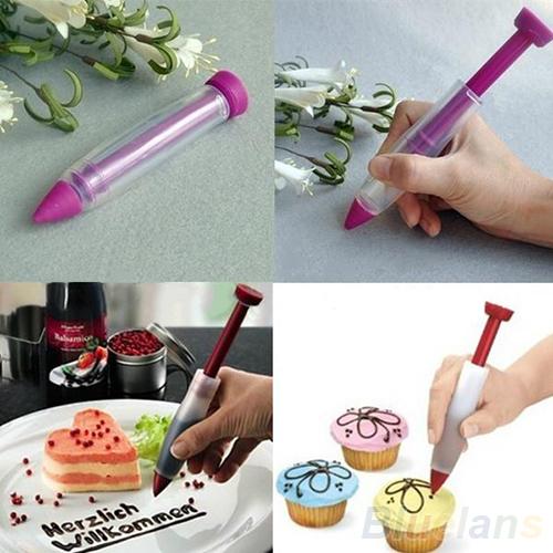 Чем сделать надпись на торте если нет шприца