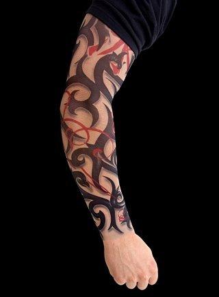 tribal arm sleeve tattoos. 102818-tribal-tattoo-sleeves-