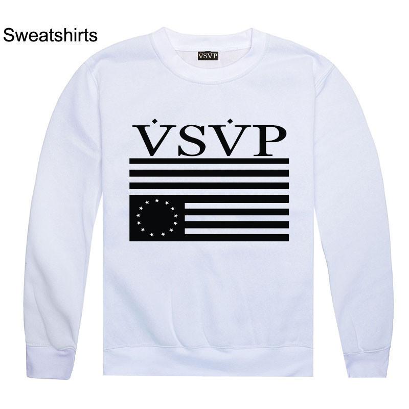 Vsvp Flag Logo Vsvp sweatshirts mens sweater new arrival fashion    Vsvp Logo