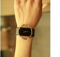 Наручные часы delivery super popular fine leather strap hollow Dial Watch Ladies