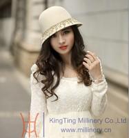 Женская фетровая шляпа June's young , 100% Diamond ZM-0022