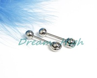 Ювелирное украшение для тела Tongue piercing fashion Jewelry 24pcs/lot al gift