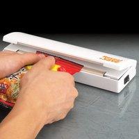 3шт пластиковый мешок запечатывания сохранить свежие продукты тепла герметик запечатывания & сохранить портативный вакуумный упаковщик использовать аккумулятор Чайна пост