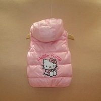 Комплект одежды для девочек 2013 Kids costume Children warm hooded vest boys girls clothes child clothing set baby wear 1pc