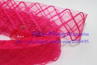 1.8 «4,5 см хлопок алмаз лошадь волос ИСПР косы с хлопка Чародей сетка ткань 100 ярдов/лот
