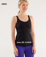 Женские толстовки и Кофты Lululemon Yoga Brand Design Lady Fashion Cotton Vests Tanks Tops Good Quality Best Retail & Price 3colour